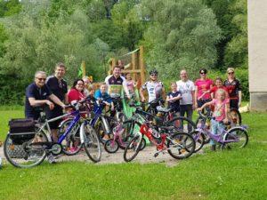 Aufsatteln 2019 - Erfolgreiche Kindertour zu Sulzers Radltreff